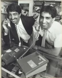 Zamurad and Ajmal Hussain on phone