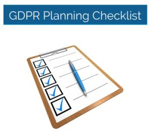 GDPR Checklist header