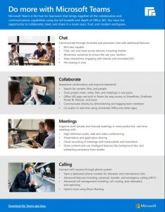 Microsoft Teams Flyer