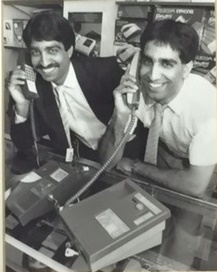 Zamurad and Ajmal Hussain on phone